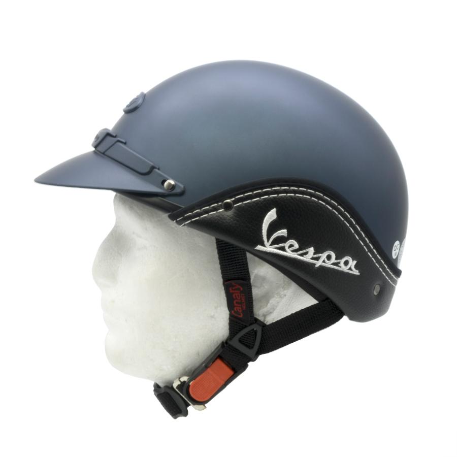 Mũ Bảo Hiểm Nửa Đầu (1/2) Canary Vespa Không Kính (Vòng đầu từ 54 - 60cm) - Chuẩn Quatest 4
