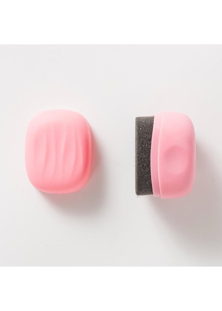 Bộ 2 miếng đánh bóng vệ sinh giày dép nhỏ gọn có dầu đánh bóng bỏ túi cho nhân viên văn phòng