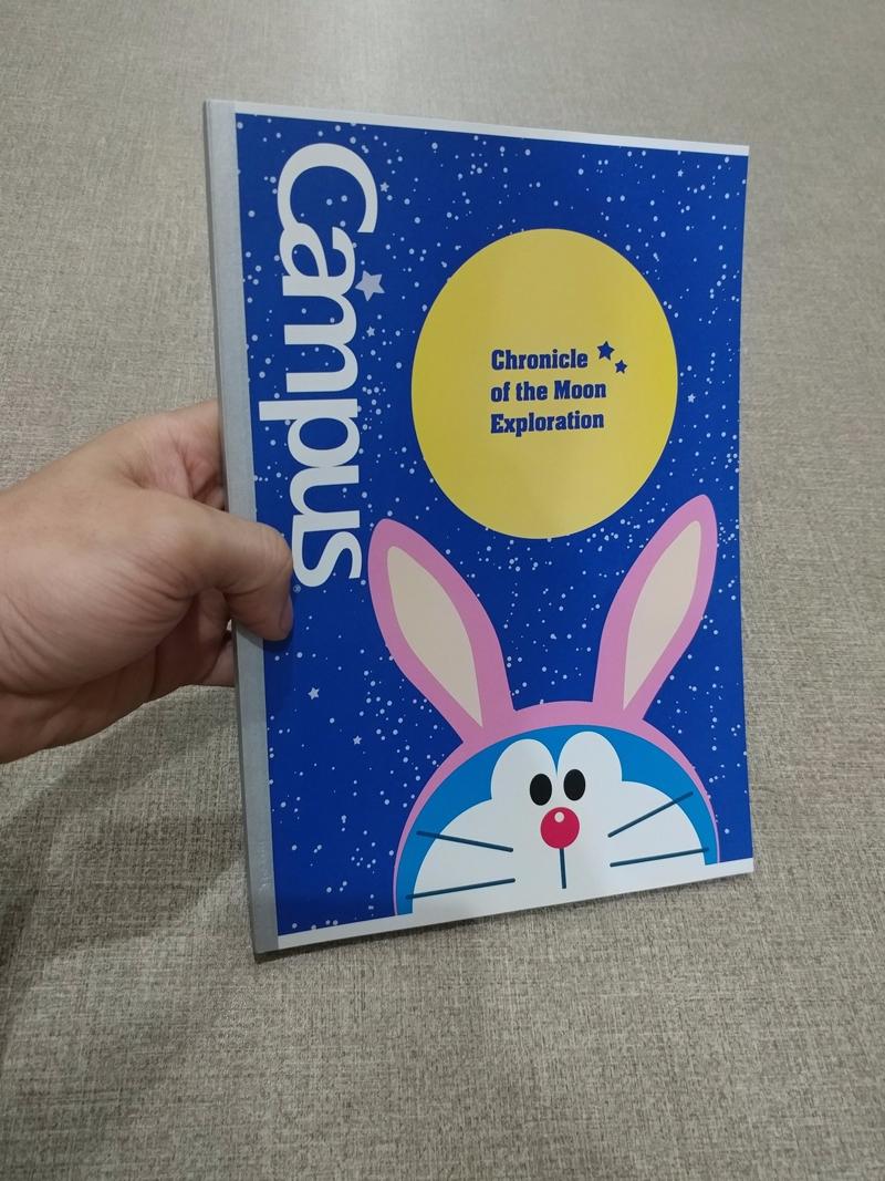 Vở Campus B5 Kẻ Ngang Có Chấm 200 Trang ĐL Doraemon Movie