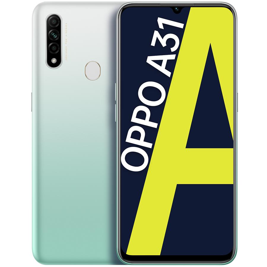 Điện Thoại Oppo A31 2020 4GB128GB - Hàng Chính Hãng - Trắng