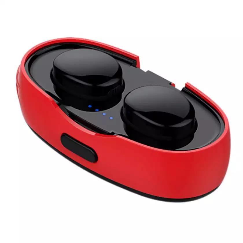 Tai Nghe Bluetooth 4.2 (Tai Nghe Không Dây) TWS TS03 VINETTEAM - Nhỏ gọn - Chống Nước IPX4 - Nghe 90h - Tích Hợp Micro - Tự Động Kết Nối - Có Túi Đựng Cao Cấp - Hàng Nhập Khẩu