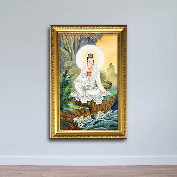 Tranh Phật Bà Quan Âm: Tranh Phật Treo Tường W720