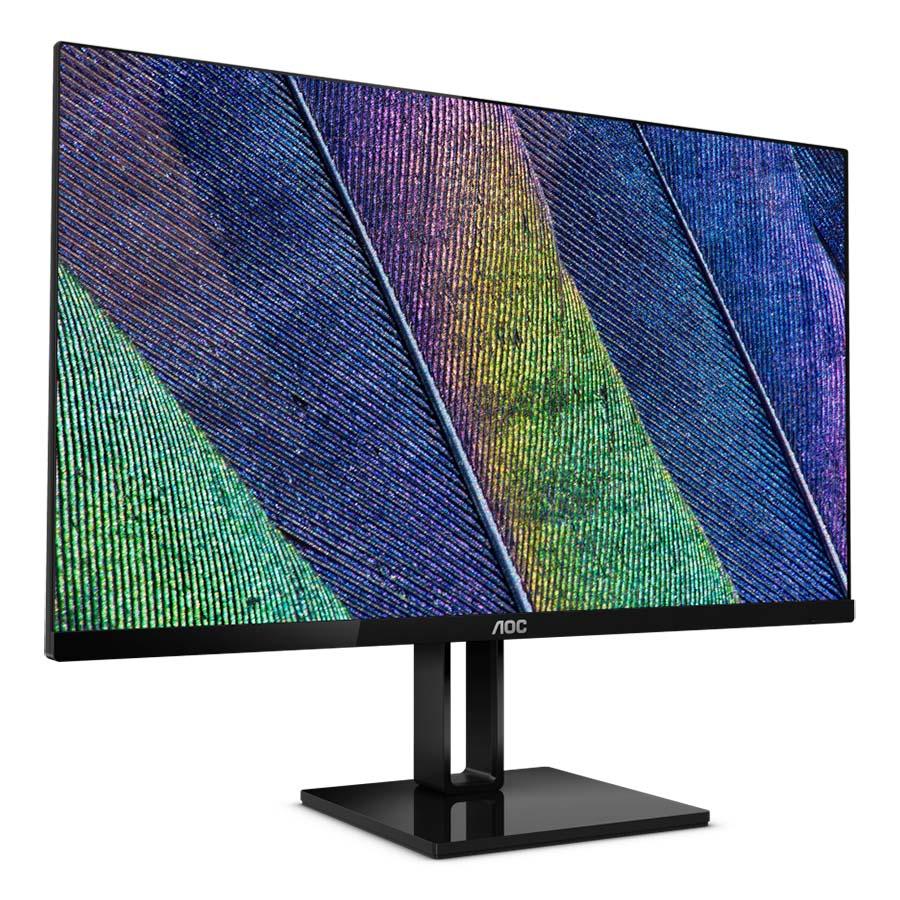 Màn hình máy tính AOC 24V2Q 24 inches IPS FHD 75Hz (Đen) - Hàng chính hãng