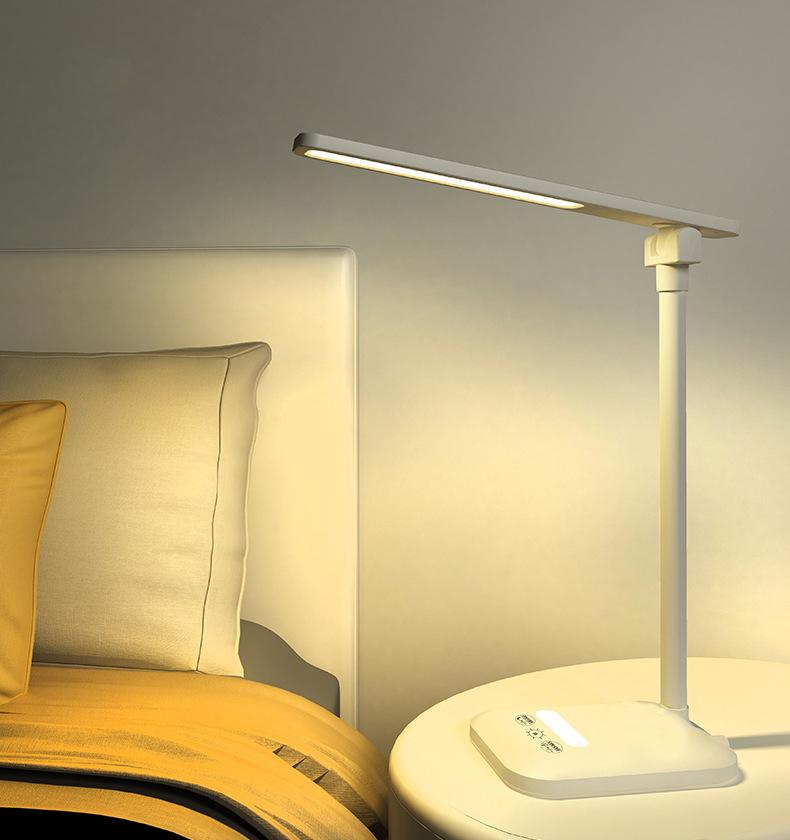 Đèn Bàn Học USB Di Động Cao Cấp– 03 Chế Độ Ánh Sáng Vàng Bảo Vệ Mắt Chống Cận