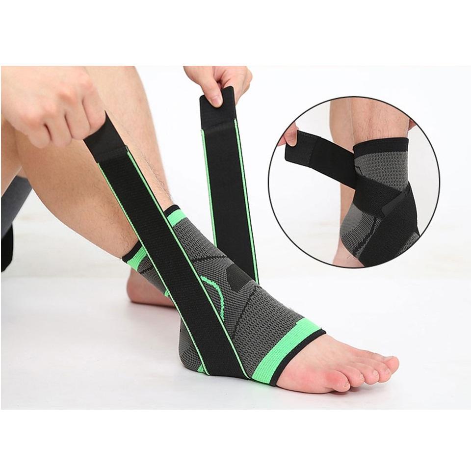 Bảo vệ gót, mắt cá chân khi tập luyện thể thao Aolikes AL7529 (1 đôi)
