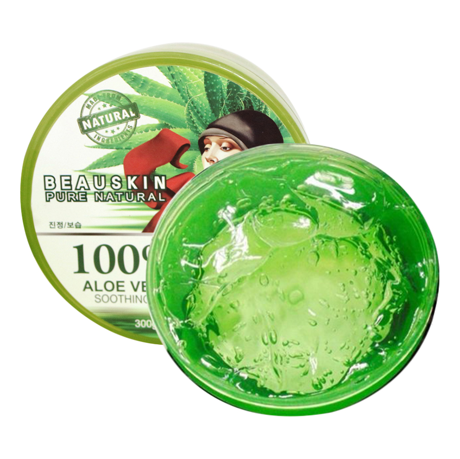 Gel Lô Hội Beauskin 100% Aloevera Soothing (300g)