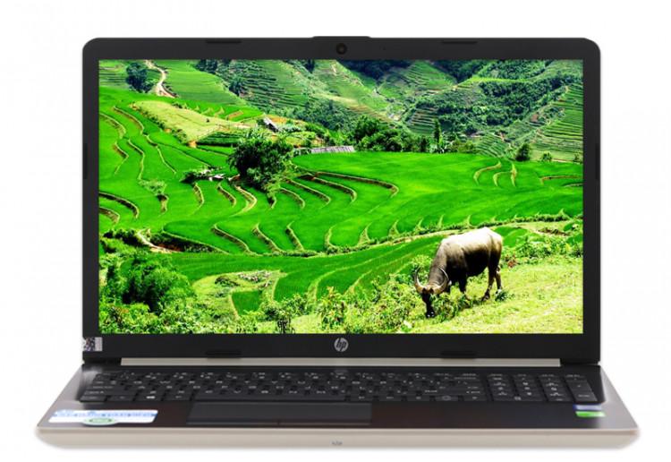 Màn hình tươi sáng, sắc nét trên Cấu hình mạnh mẽ trên Laptop HP 15 da1033TX i7 (5NK26PA)