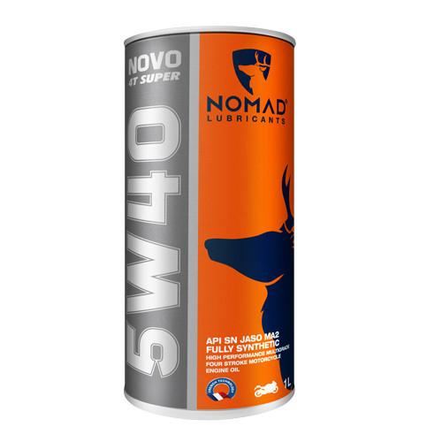 Nhớt Tổng Hợp Toàn Phần NOMAD 1L API SN - JASO MA2 - SAE 5W40