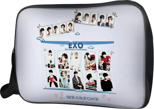 Túi Đeo Chéo Hộp Unisex Exo - TCKP158 34 x 9 x 25 cm