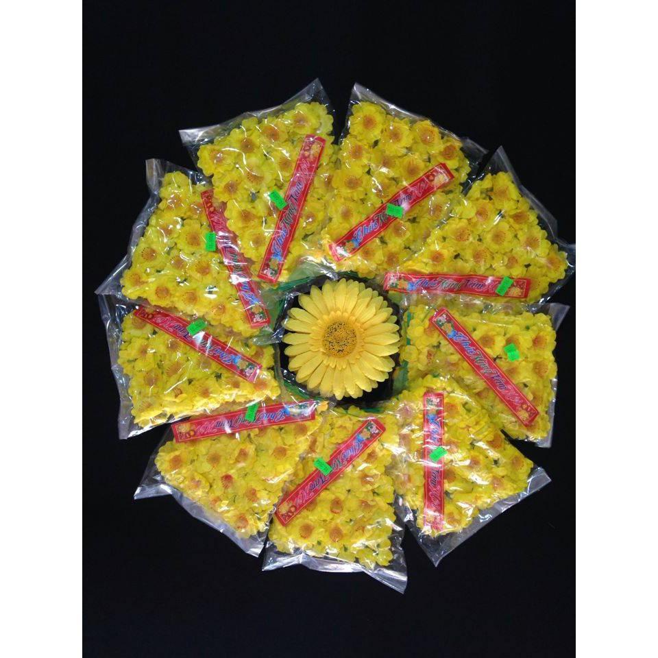 100 bịch hoa mai đào trang trí tết : 950k