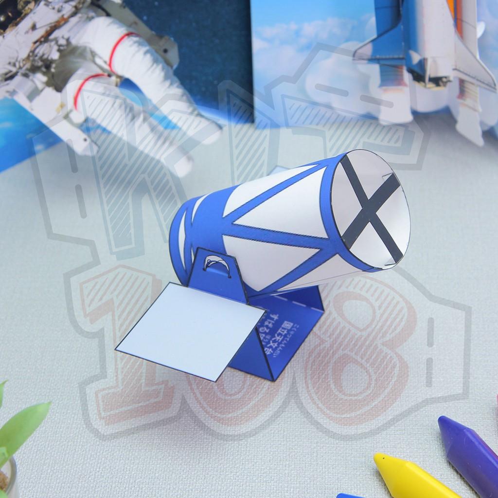Mô hình giấy đồ vật đồ chơi Kính thiên văn Subaru