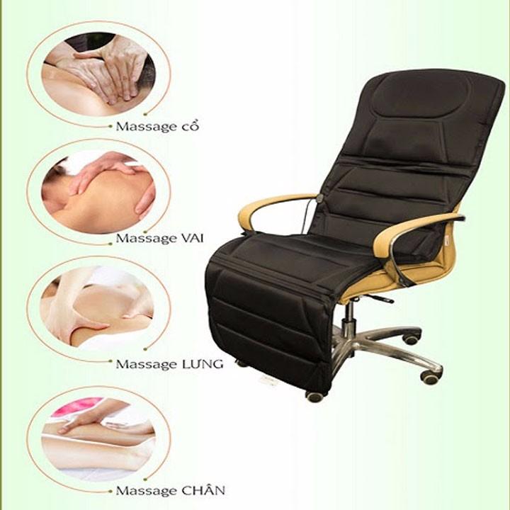 Nệm massage toàn thân 9 điểm massage