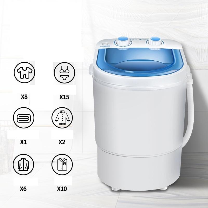 Máy Giặt Mini Giặt Đồ Tiết Kiệm Nước Bán Tự Động Giặt 3,2kg Đồ