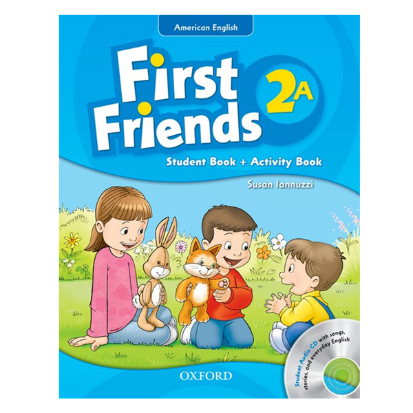 First Friends 2A Student Book + Activity Book (Student Audio CD With Songs, Stories and Everyday English) (American English Edition)