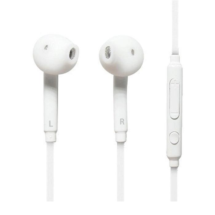 Tai nghe Ibesky dành cho Samsung Galaxy S6/S7/Note 5 (Trắng) + Tặng kèm cặp nút bọc tai nghe - Hàng Chính Hãng