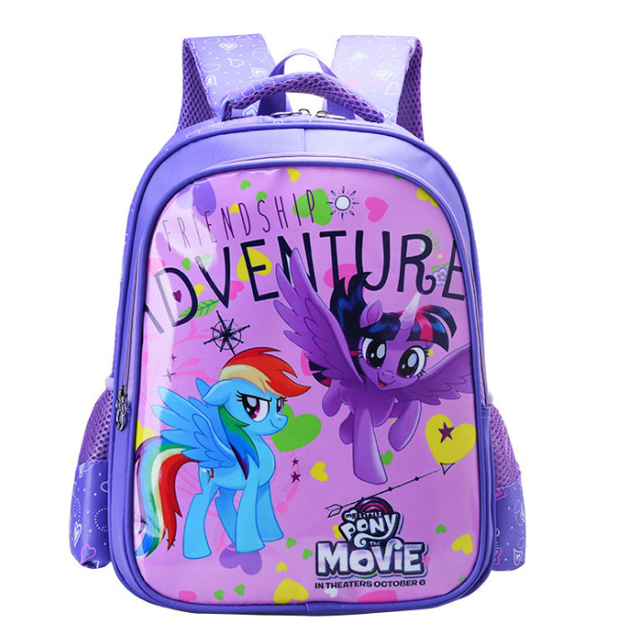 Balo bé gái Pony tím cấp 1