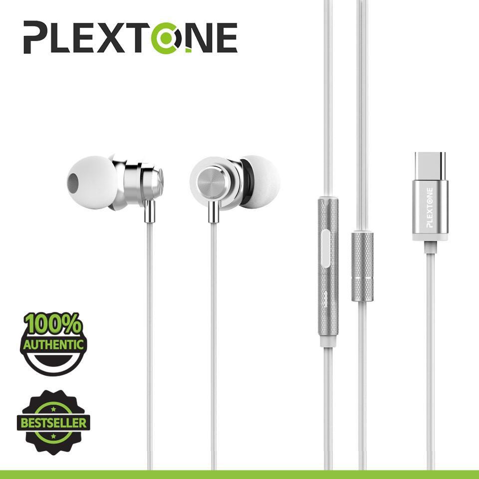 Tai nghe UsbType-C Plextone X56m thể thao chống nước  - Hàng chính hãng