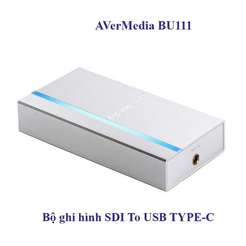 BỘ TREAM AVERMEDIA XTREMECAP SDI - BU111- HÀNG CHÍNH HÃNG