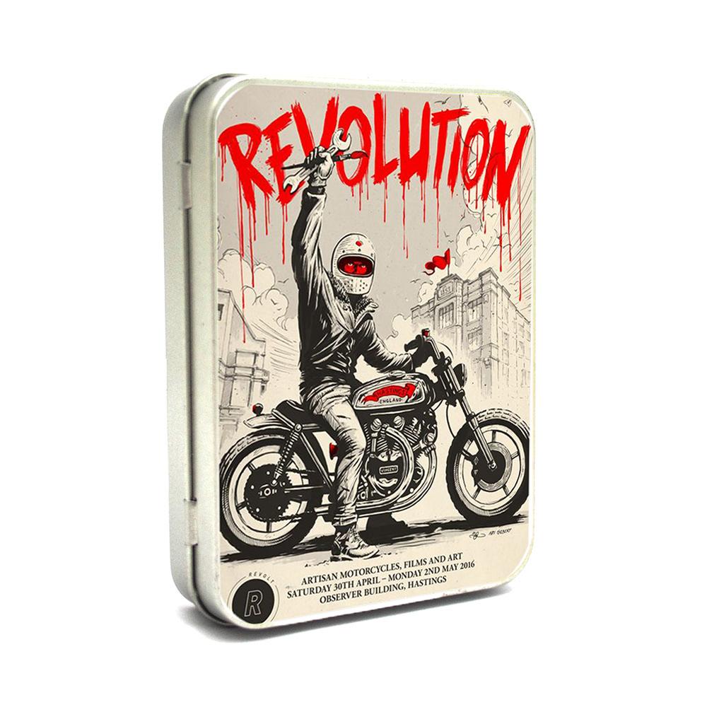 Hộp thiếc Vintage Box - Revolution