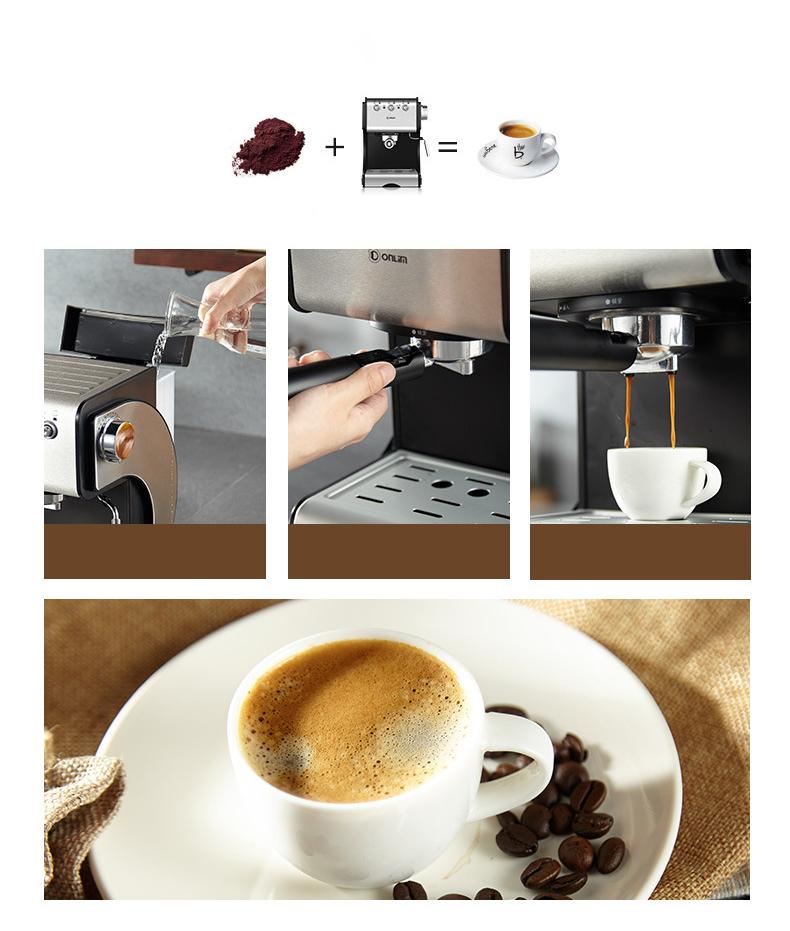 Máy Pha Cafe Gia Đình Tự Động KF500S