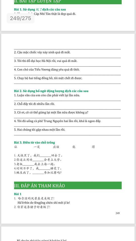 Combo 3 sách Bộ đề tuyển tập đề thi năng lực Hán Ngữ HSK 3 và đáp án giải thích chi tiết +Giải mã chuyên sâu ngữ pháp HSK giao tiếp tập 1 +DVD