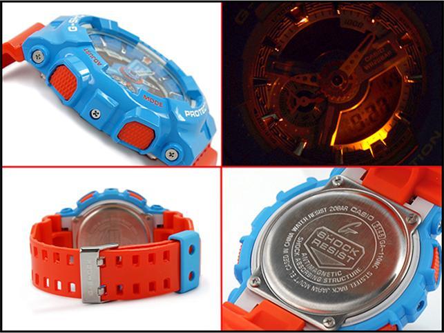 Đông hồ Casio G-Shock Nam dây nhựa GA-110NC-2ADR