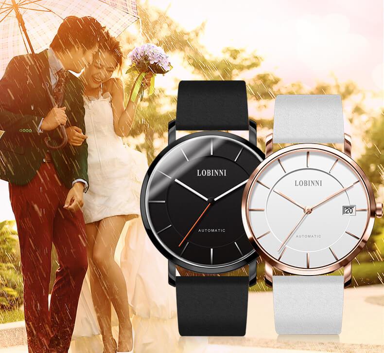Đồng hồ đôi chính hãng Lobinni No.5016-9
