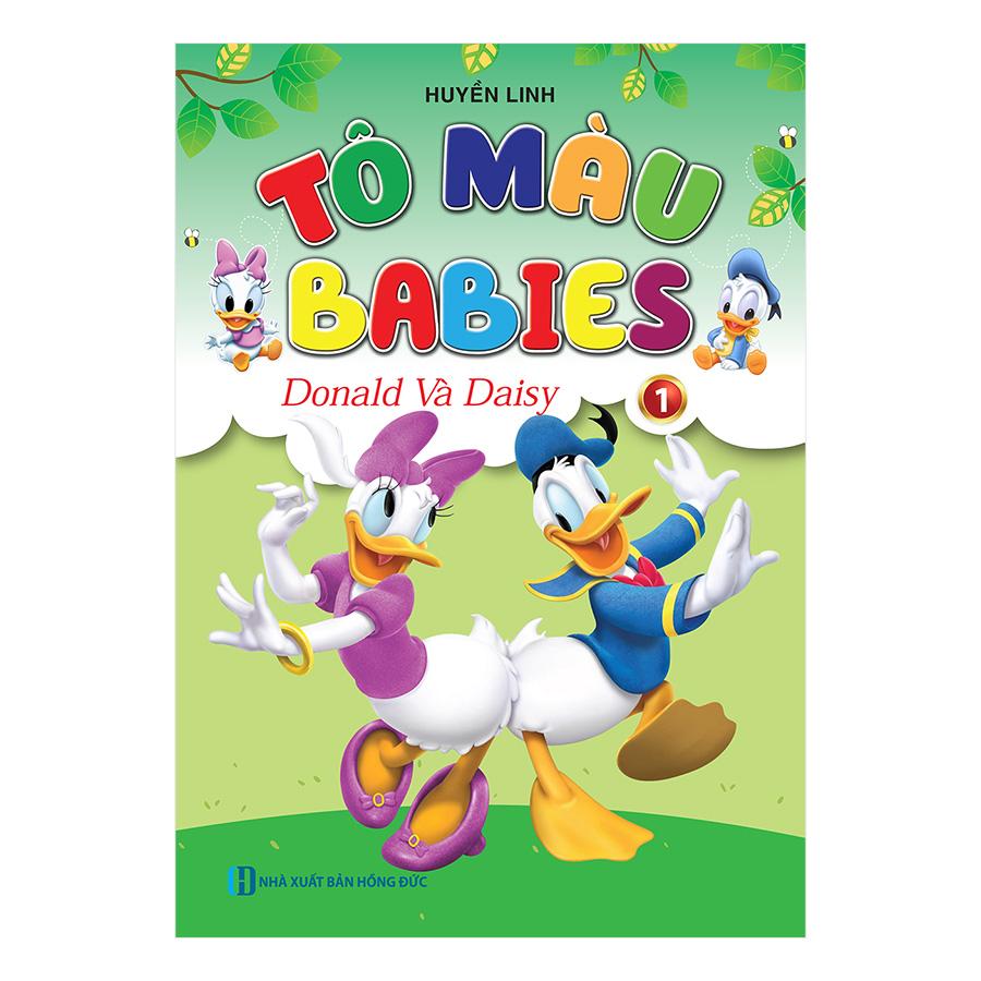 Tô Màu Babies - Donald Và Daisy