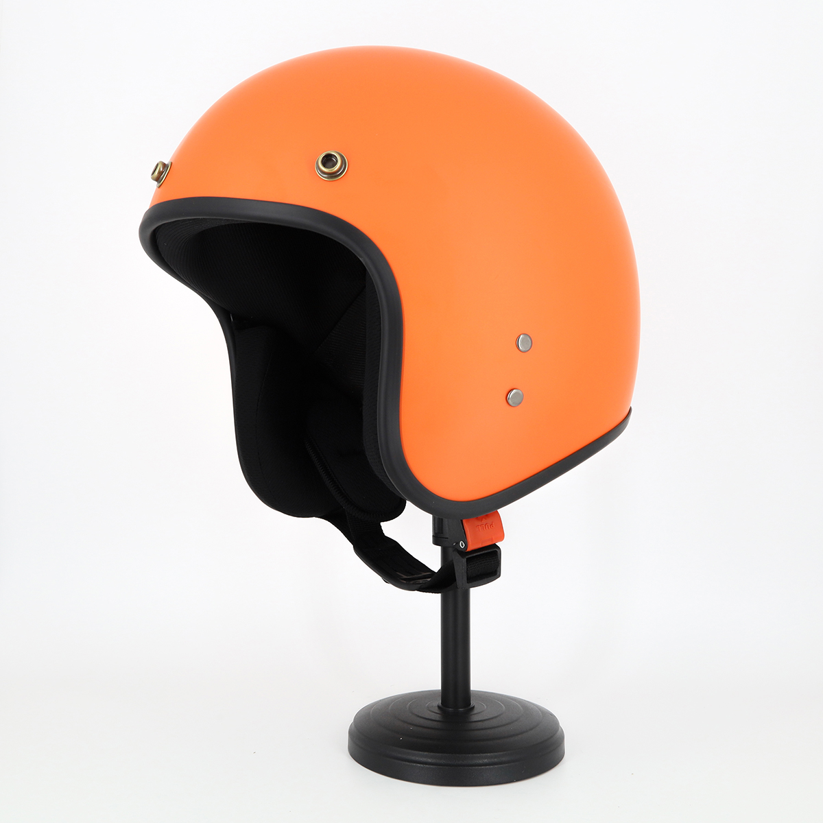 Mũ Bảo Hiểm SRT 3/4 Chuyên Phượt Trơn Không Họa Tiết Kèm Lưỡi Chai Chống Nắng, Chống Chói, Mưa Hắt