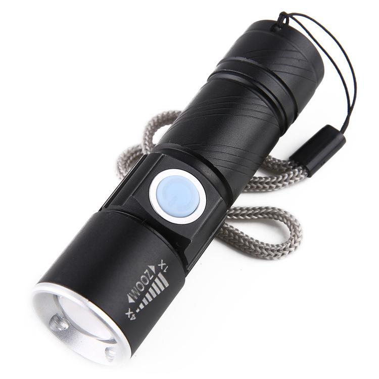 Đèn pin mini zoom siêu sáng