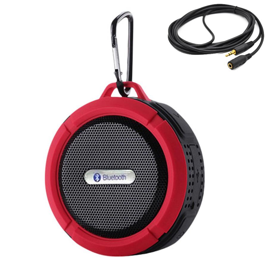 Loa Bluetooth C6 Kháng Nước Chống Va Đập + Tặng Cáp Âm Thanh Chuẩn 3.5mm