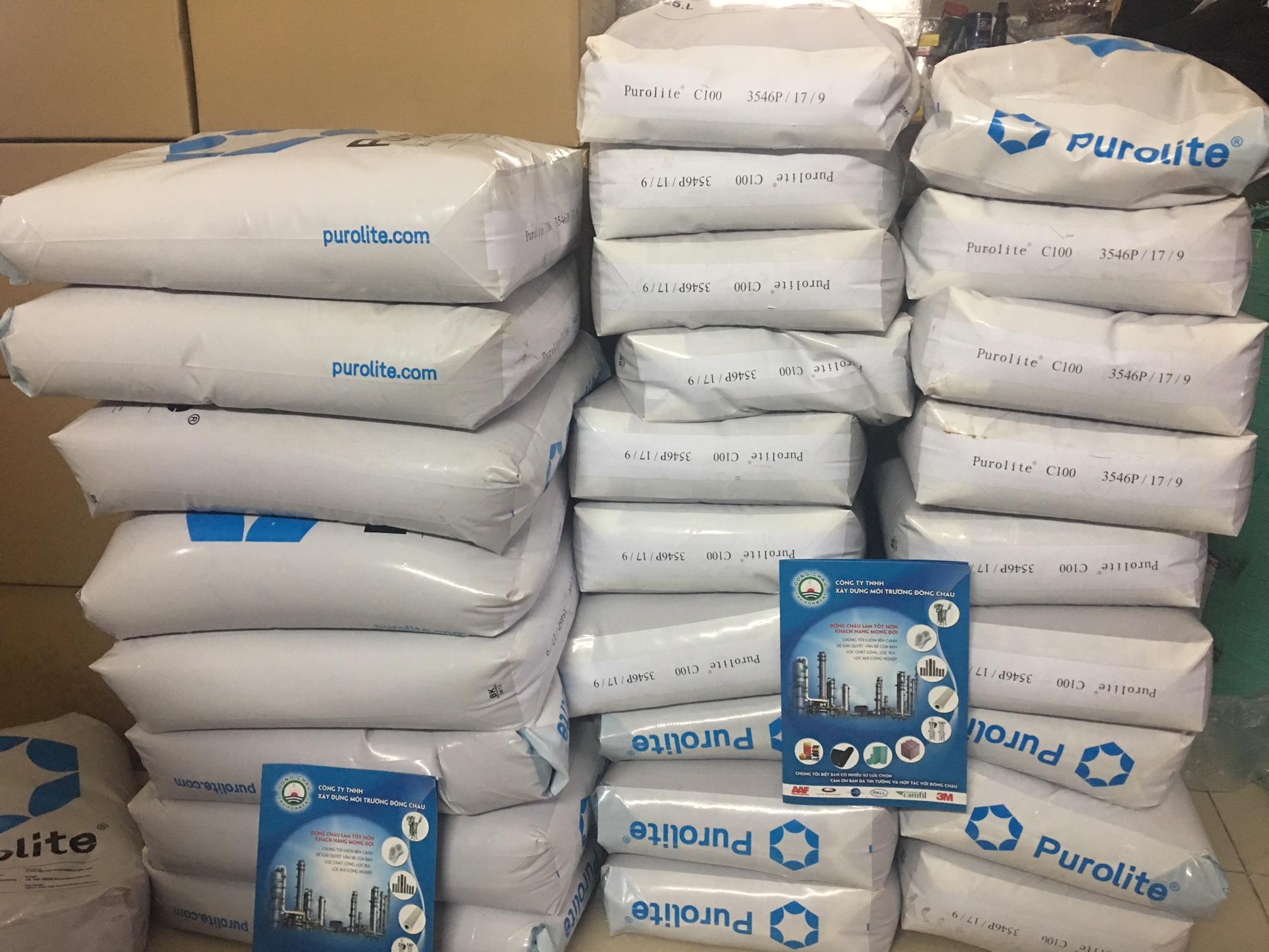 Hạt catrion xử lý nước cứng sinh hoạt gia đình, xử lý nước đá vôi, đóng cặn gói 1kg
