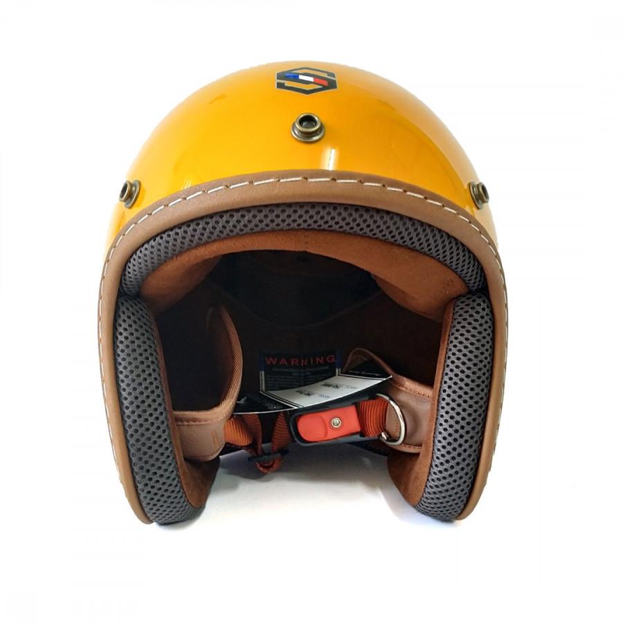 Mũ bảo hiểm 3/4 đầu cao cấp SUNDA 111c mẫu mới (SUNDA 390)
