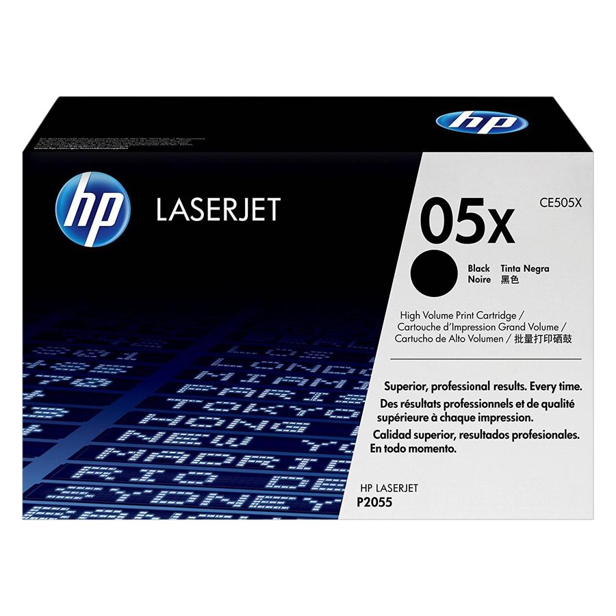 Mực In HP CE505X (HP 05X) Cho Máy In HP P2055d, HPP2055x, HP P2055dn - Hàng Chính Hãng