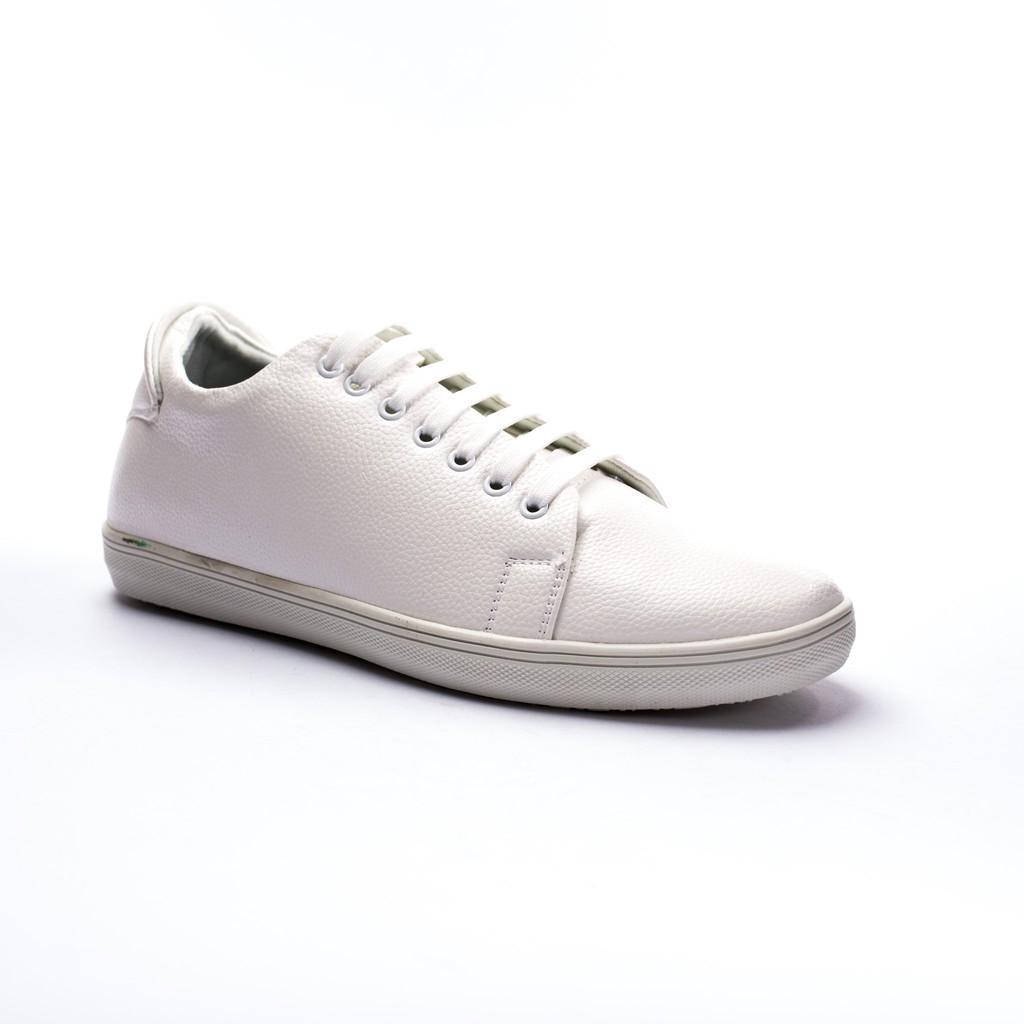 Giày Thể Thao Nam Màu Trắng Tăng Chiều Cao 6Cm Không Hề Lộ Cực Đẹp - Cực Chất - M360-TRANG (L)