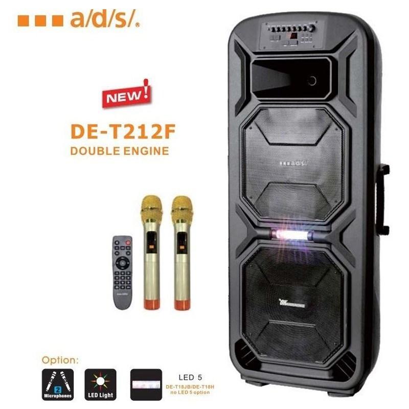 Loa Kéo Bluetooth A/D/S DE-T212F - Hàng Nhập Khẩu