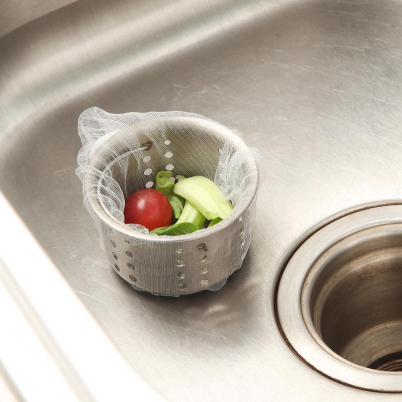 Combo 100 túi lọc rác bồn rửa chén siêu tiện dụng
