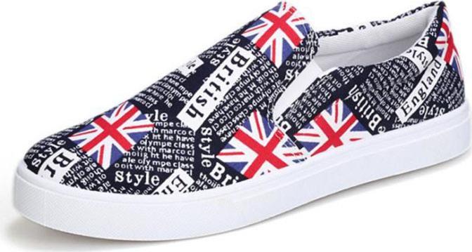 Giày lười vải thời trang nam - GL09