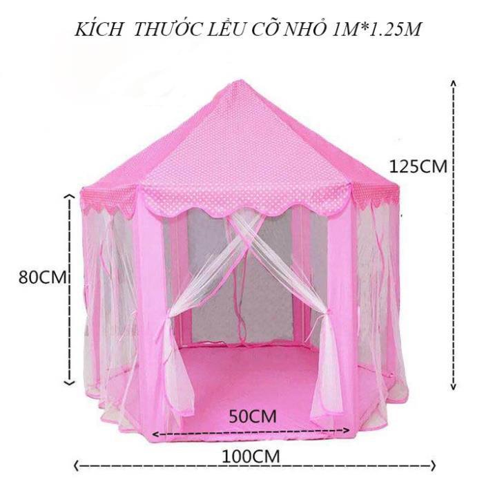 Lều công chúa hoàng tử cho bé phong cách Hàn Quốc Lều cho bé chơi Lều ngủ Lều bóng cho bé