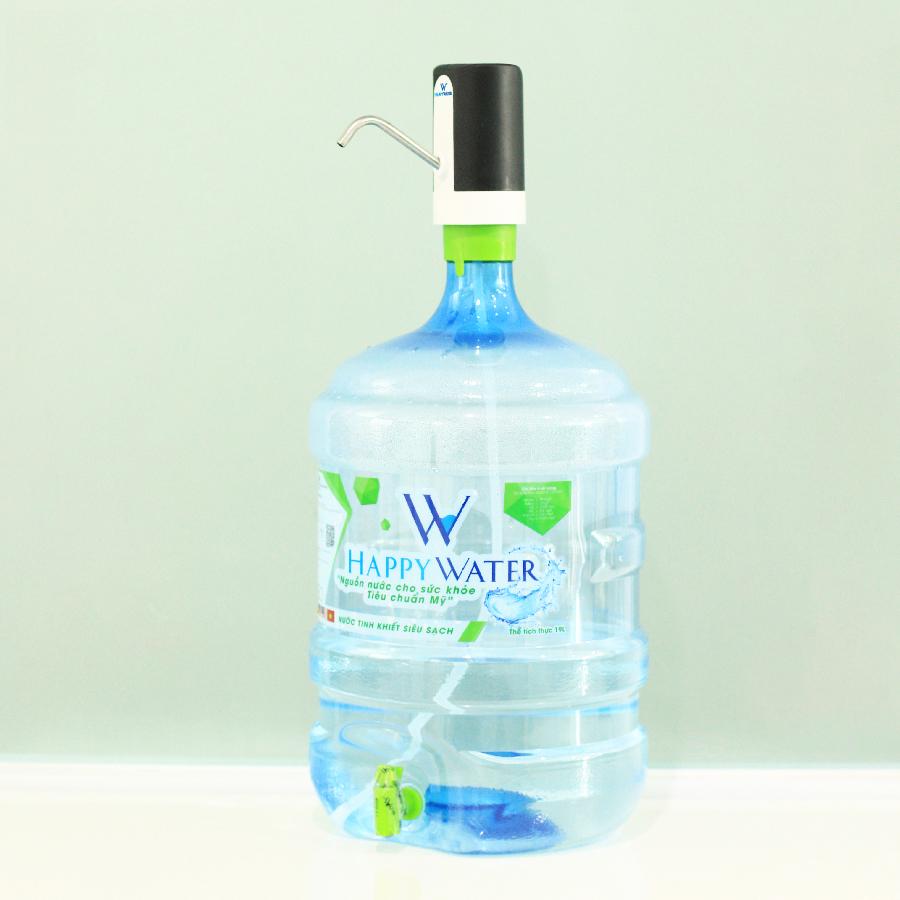 Máy bơm nước bình tự động HappyWater tiện lợi dễ sử dụng - Hàng chính hãng