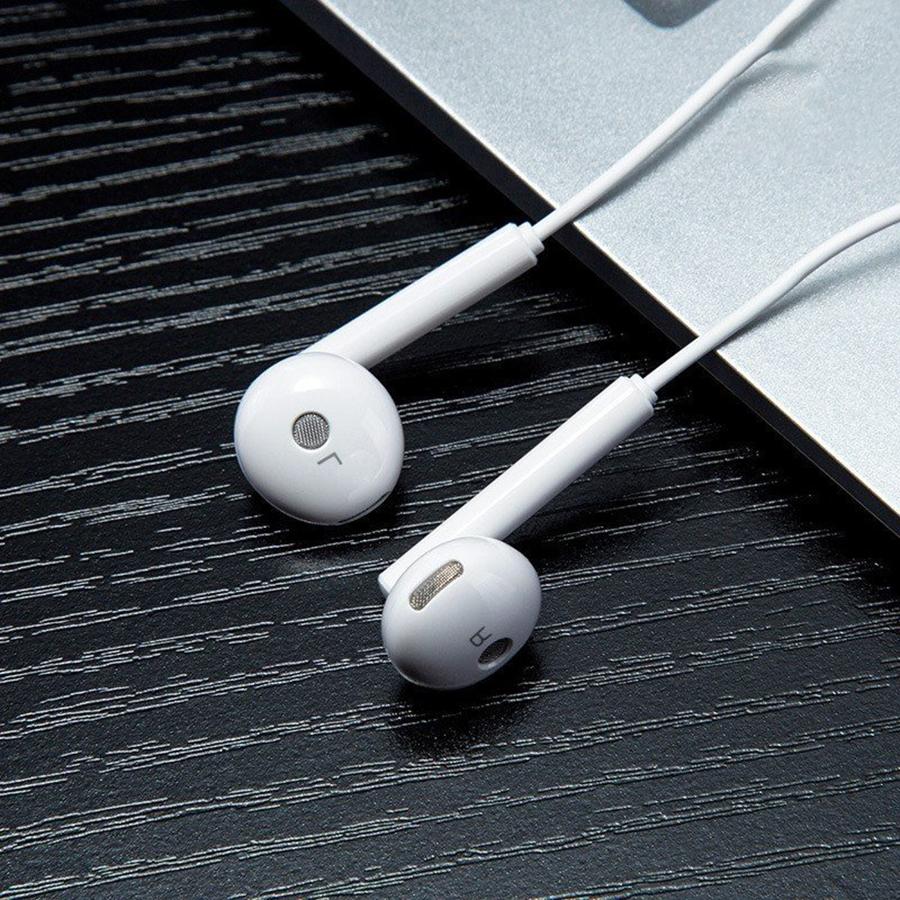 Tai nghe nhét tai Honor Earphones - Hàng chính hãng màu trắng