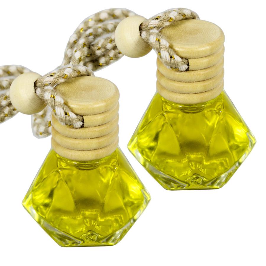 Lọ tinh dầu treo xe ô tô - Hương sả chanh vàng