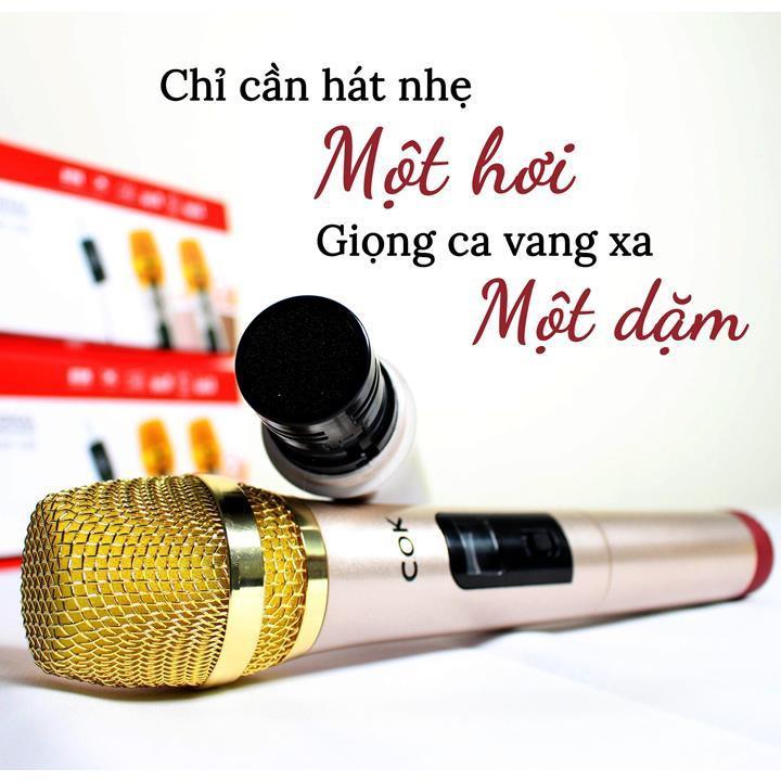 MICRO KHÔNG DÂY COK ST123 - HÀNG CHÍNH HÃNG