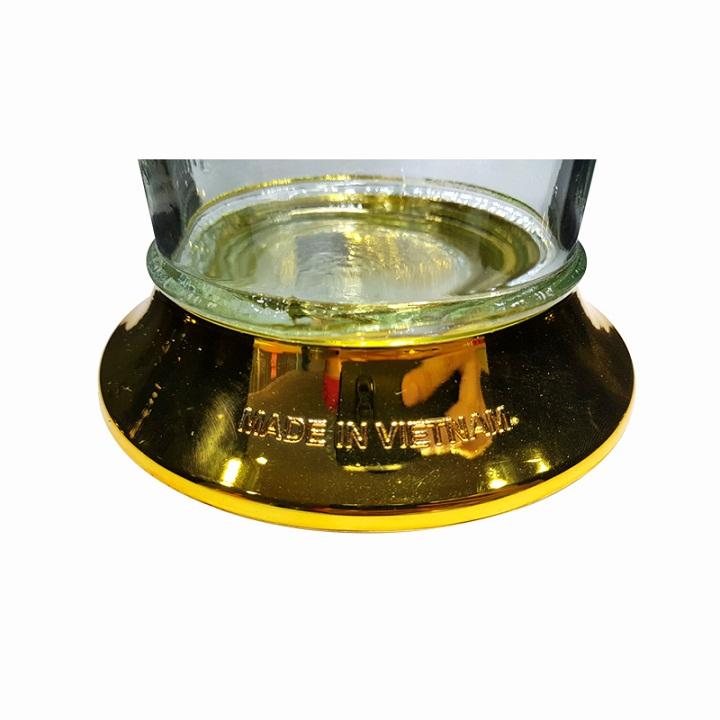 Bình Thủy Tinh Ngâm Rượu Dáng Trụ 1.8 Lít