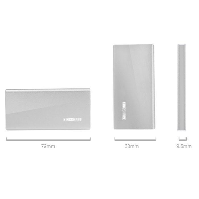 Box Kingshare SSD mSATA To USB Type C - Màu Ngẫu Nhiên - Hàng Nhập Khẩu