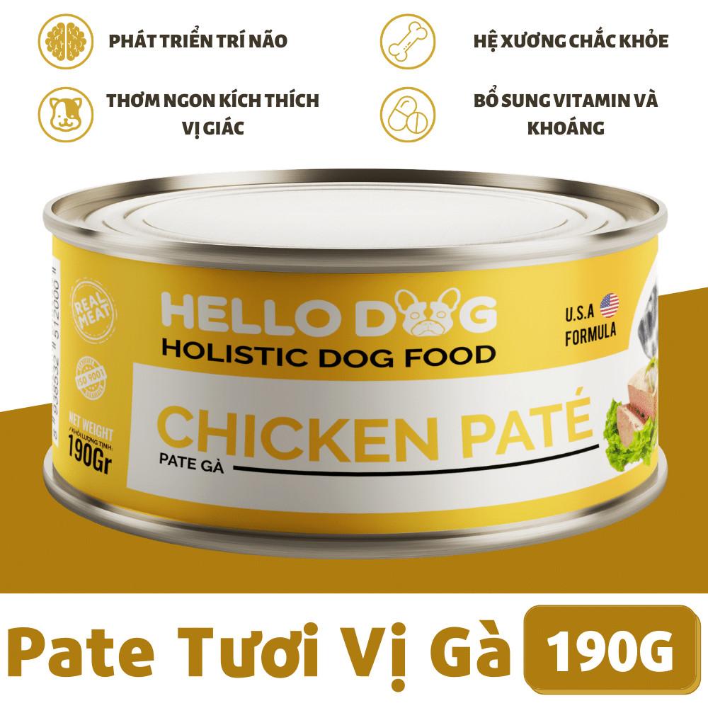 Thức Ăn Dành Cho Chó Đã Trưởng Thành Của Giống Nhỏ (Từ 10 Tháng) Có Hàm Lượng Năng Lượng Tăng Hỗ Trợ Tăng Cân Fitmin Dog Mini Performance 3KG - TẶNG 1 Lon Pate Tươi Hello Dog Chicken Pate 190G