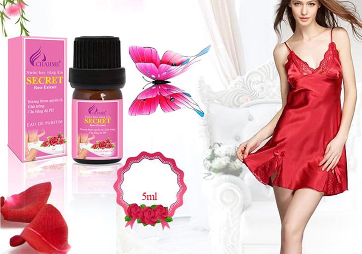 Nước Hoa Vùng Kín Charme Secret Rose Extract 5ml | Tiki.vn