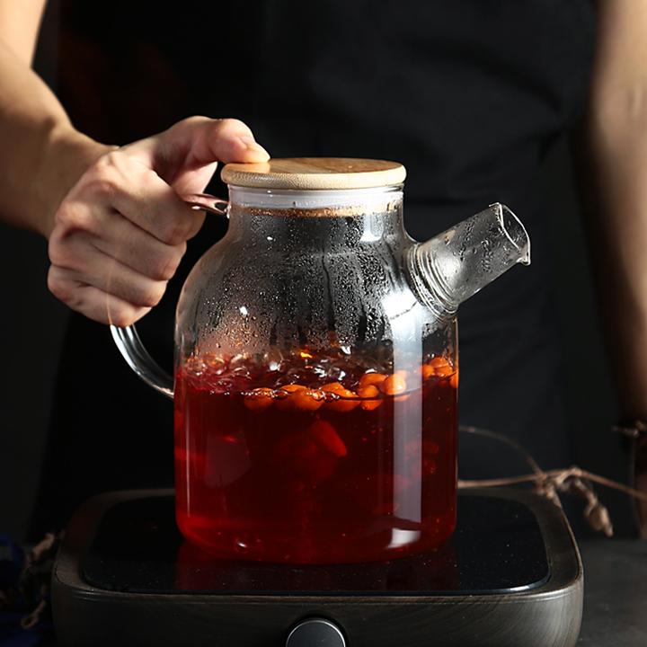Ấm  pha trà loại lớn có thể nấu trên bếp hồng ngoại, bếp ga 2020MC12