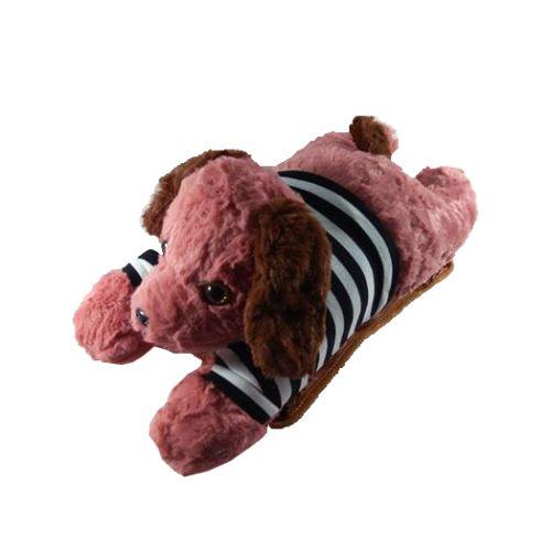 Túi Sưởi Ấm Lưng Hình Chó Đa Năng - Dùng Điện - Màu Nâu - Mẫu TSL22