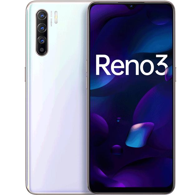 Điện Thoại OPPO RENO 3 8GB128GB - Hàng Chính Hãng - Trắng
